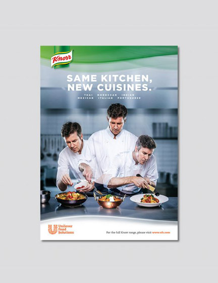 Knorr Brand Ad