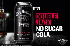 Launching Double Jack No Sugar Cola